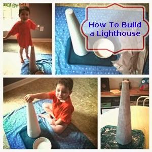 homeschool preschool lighthouse unit how to build a lighthouse