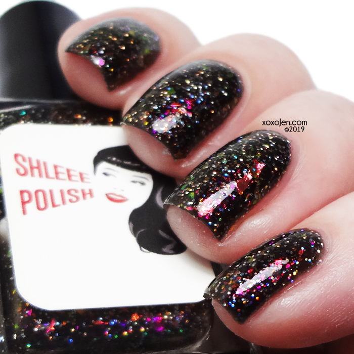 xoxoJen's swatch of Shleee Polish But You're, Like.... Evil