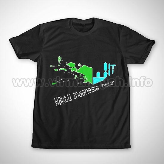 Kaos Indonesia Bagian Timur