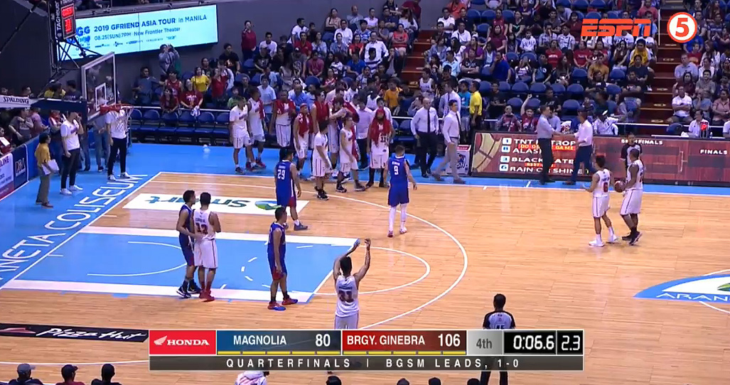 Ginebra eliminates Magnolia, 106-80 (REPLAY VIDEO) July 23 | QF Game 2