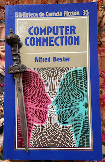 Portada del libro Computer Connection, de Alfred Bester