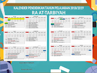 Download Gratis Kalender Pendidikan 2018 Format CDR
