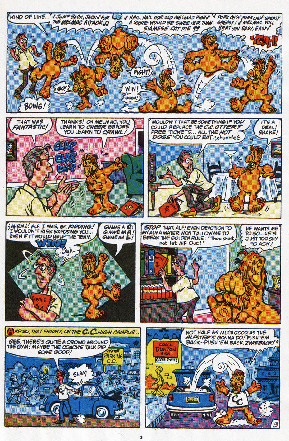 Read online ALF comic -  Issue #6 - 4