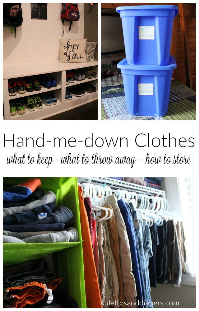 Hand-me-down Guide with Rack Room Shoes