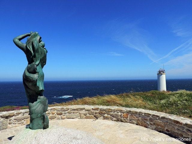 Faro de Laxe: Punta de Insua, Costa da Morte, Galicia