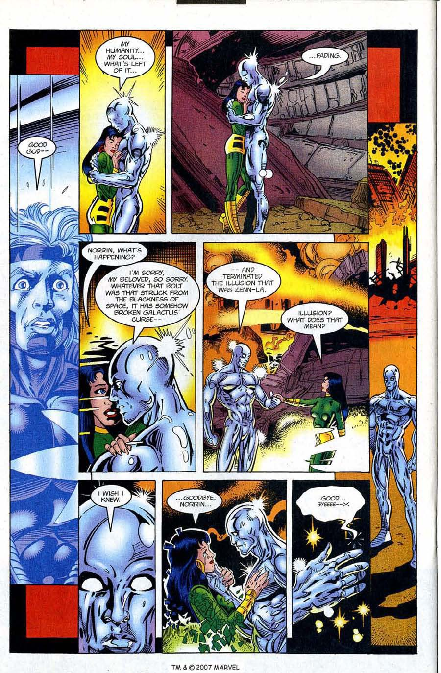 Silver Surfer (1987) Issue #122 #130 - English 26