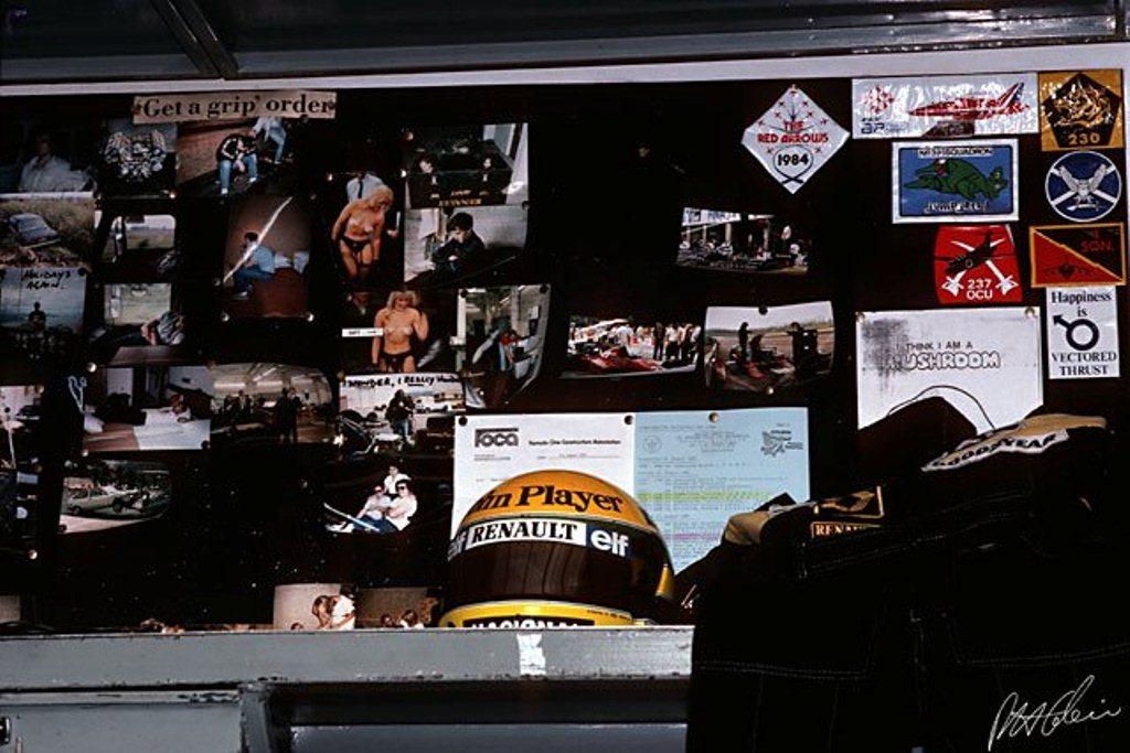 Ayrton Senna: Motorhome do Ayrton Senna - Lotus 1986