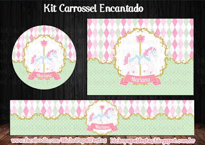 Kit Carrossel Encantado