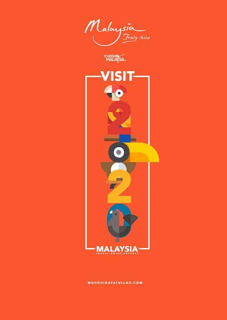 Logo Visit Malaysia 2020 Viral dihentam Netizen