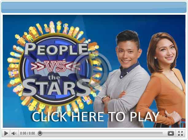 People vs. the Stars- Pinoy Show Biz  Your Online Pinoy Showbiz Portal