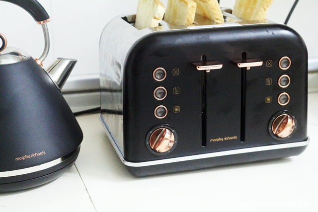 Morphy Richards Rose Gold Accents Collection Sabrina