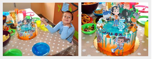 rafcio śrubka, urodzinki, tort, wypieki