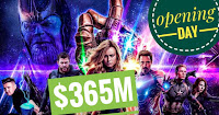 Avengers: Endgame $365M just on opening day
