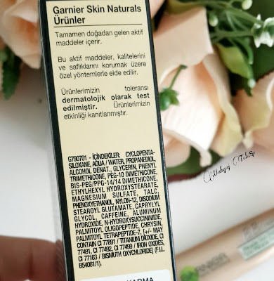 garnier göz altı kapatıcısı