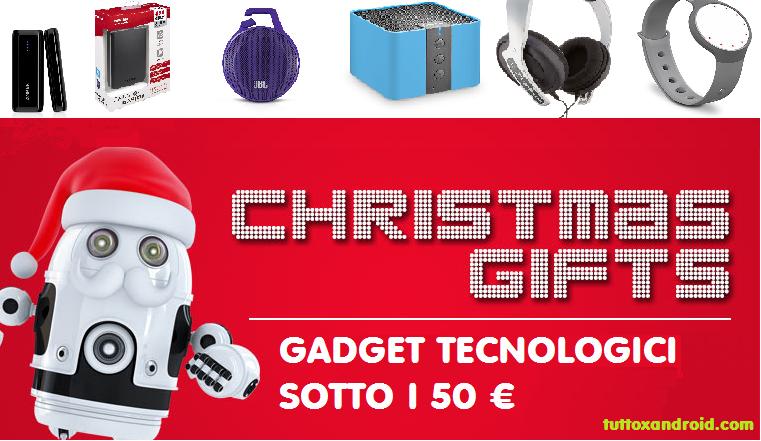 Regali Di Natale Che Costano Poco.30 Gadget Super Tecnologici Da Regalare A Natale Sotto I 50 Guida