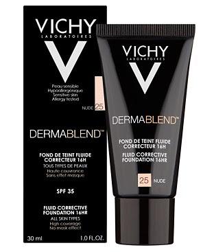 Vichy Dermablend  fluid korygujący 16 h trwałość