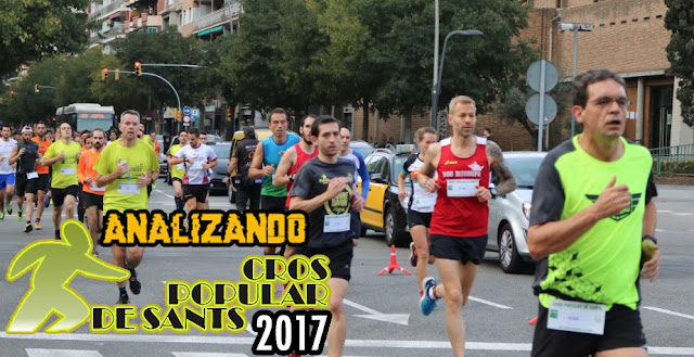 Analizando Cros Popular de Sants 2017