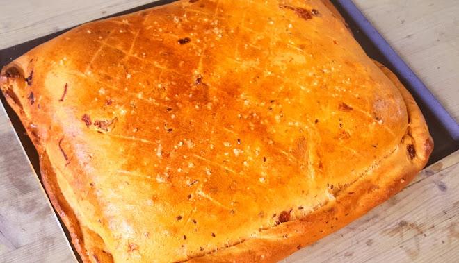 Pâte à focaccia à la semoule de blé dur