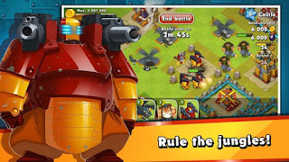 Jungle Heat:War of Clans v1.11.9 Apk