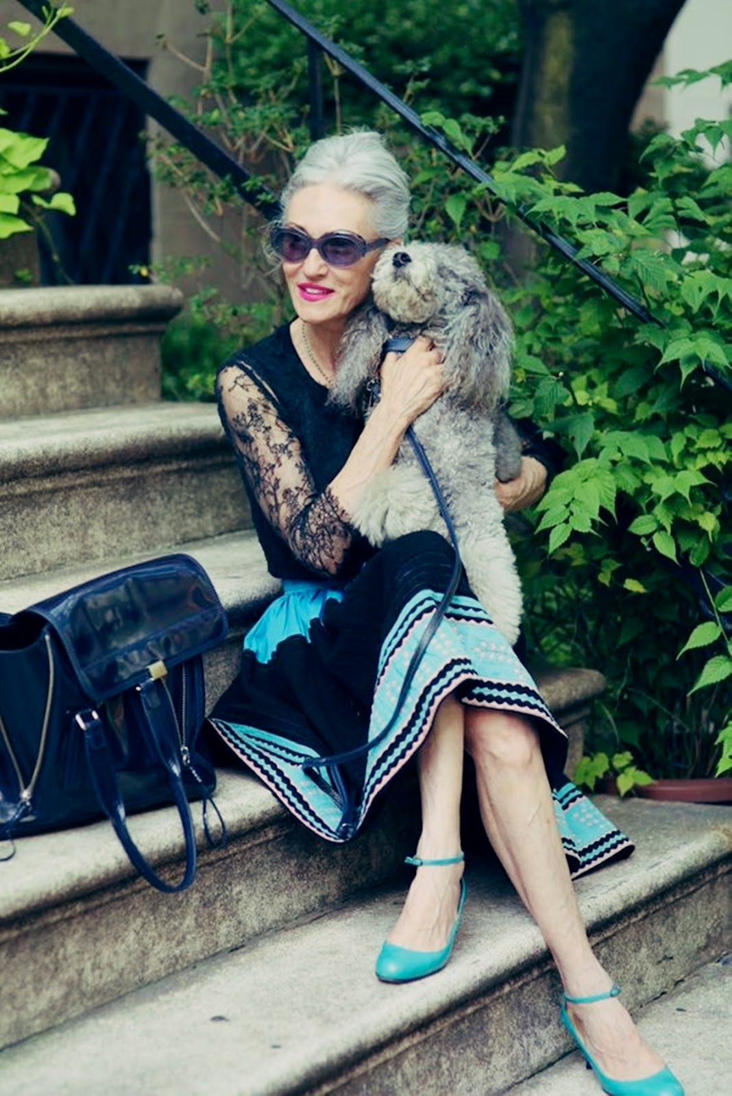 Alter, sehen die toll aus...! Linda Rodin with Winky
