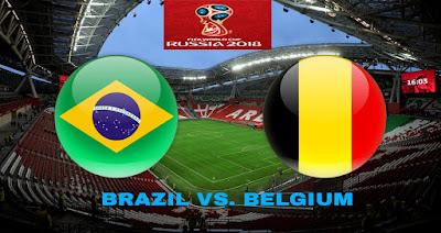 Live Streaming Brazil vs Belgium Suku Akhir Piala Dunia 7.7.2018