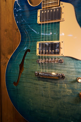 Gibson ES-335 Figured 2018 Aquamarine