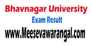 Bhavnagar University FYBHMS 2016 Exam Result