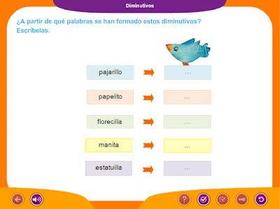 http://ceiploreto.es/sugerencias/juegos_educativos_2/8/Diminutivos/index.html