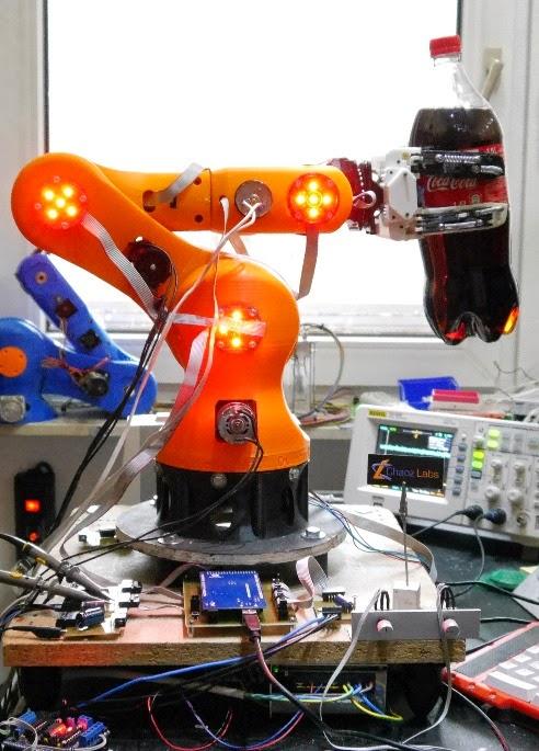 DIY 3D Printing: Powerful 3d printable robot arm for your
