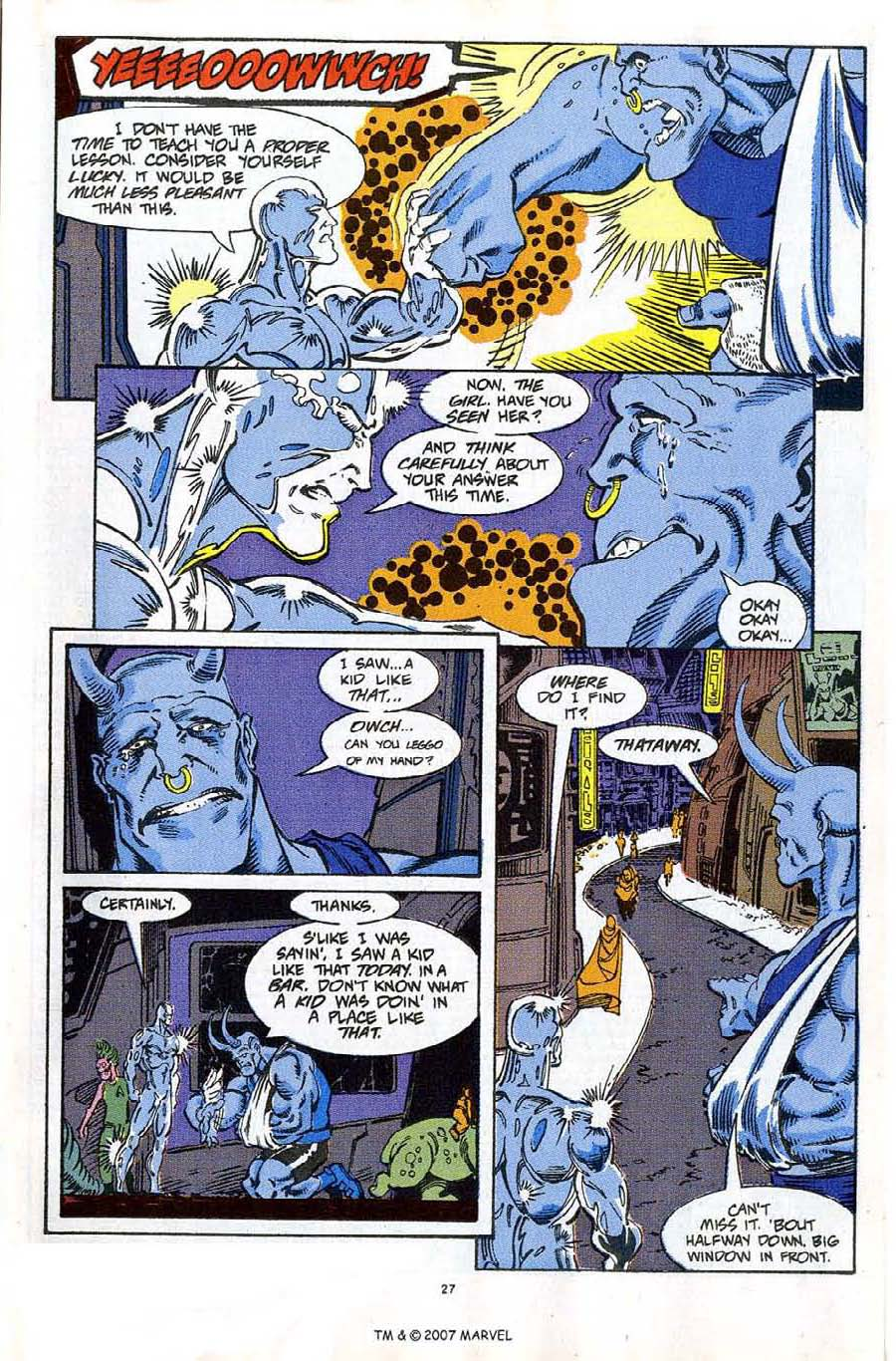 Read online Silver Surfer (1987) comic -  Issue #61 - 29