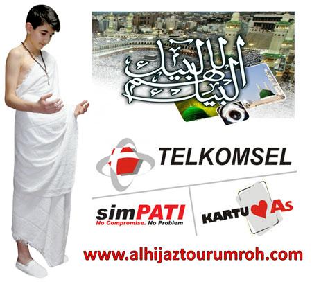 Paket Umroh Telkomsel Pakai Internet Di Arab Saudi