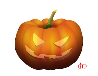 Create a Halloween Pumpkin Tutorial