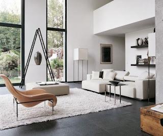 Linda sala minimalista