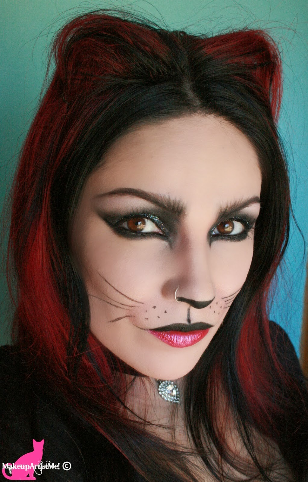 Make Up Artist Me Felina Cat Costume Makeup Tutorial