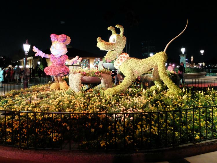 Epcot Flower & Garden Festival topiary