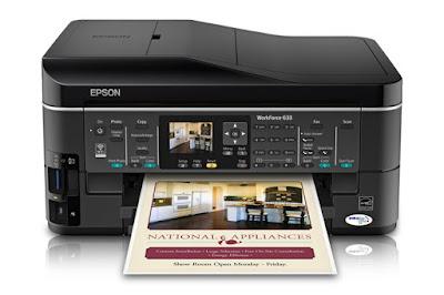 Epson WorkForce 633 Driver Download