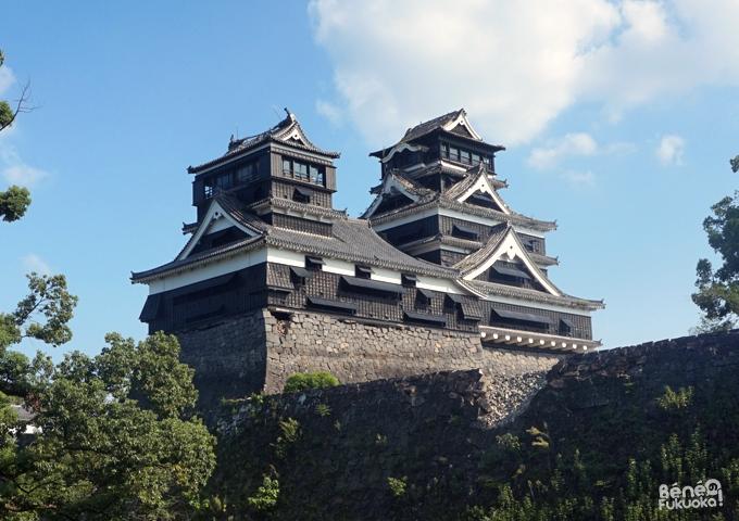 地震後の熊本城