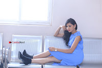 Telugu Actress Mounika UHD Stills in Blue Short Dress at Tik Tak Telugu Movie Audio Launch .COM 0211.JPG