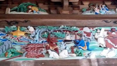 大悲願寺 観音堂の彫刻