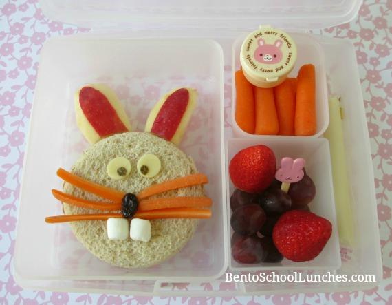 Easter Bunny Bento