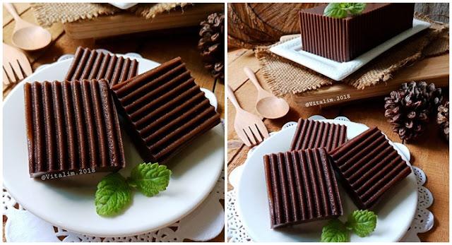 Resep Puding Dodol Coklat By Vita Lim