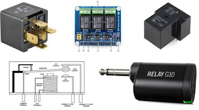 Relays and Solid State Relay