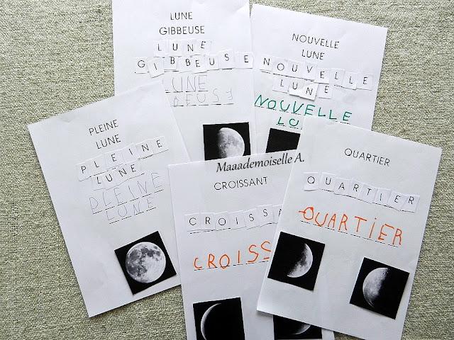 || Nos activités sur la Lune - Livret d'activités