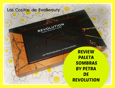 Review Paleta sombras by Petra de Makeup Revolution