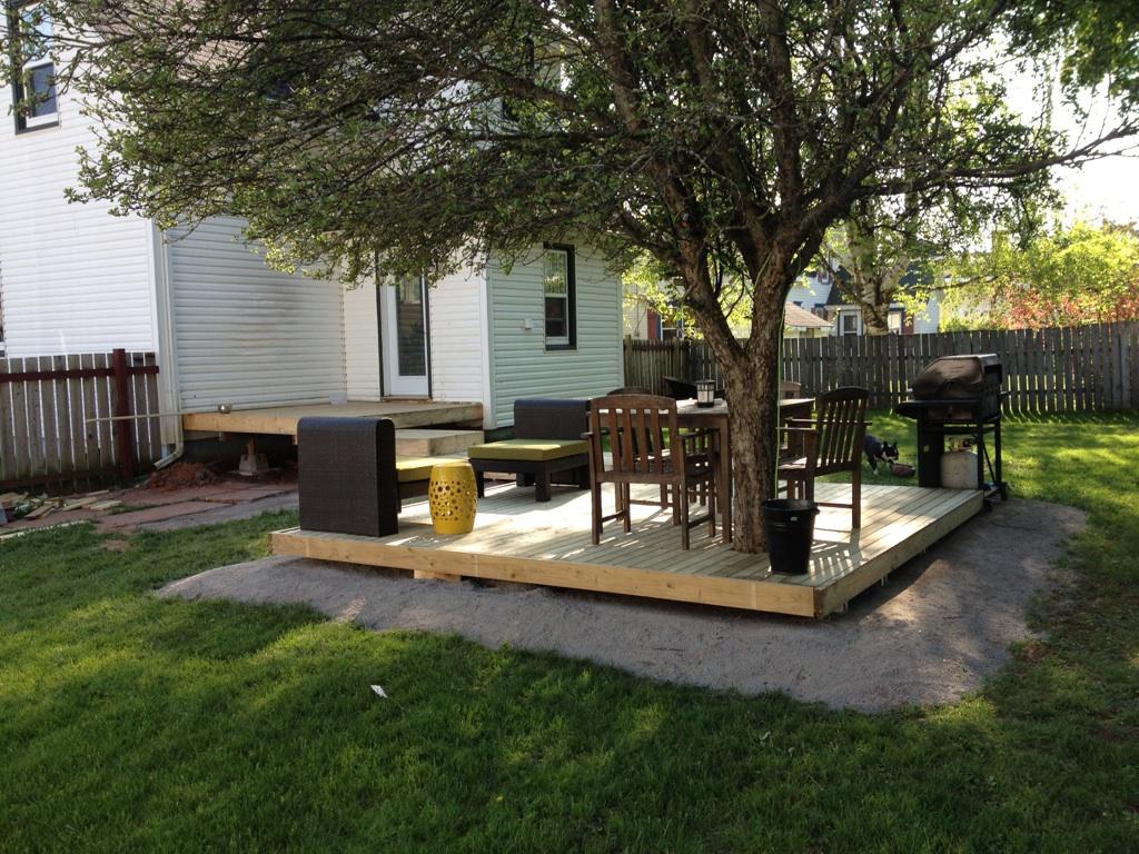 modern jane: Backyard Makeover.