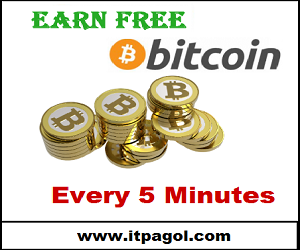 Earn Free Bitcoins every 5 minutes