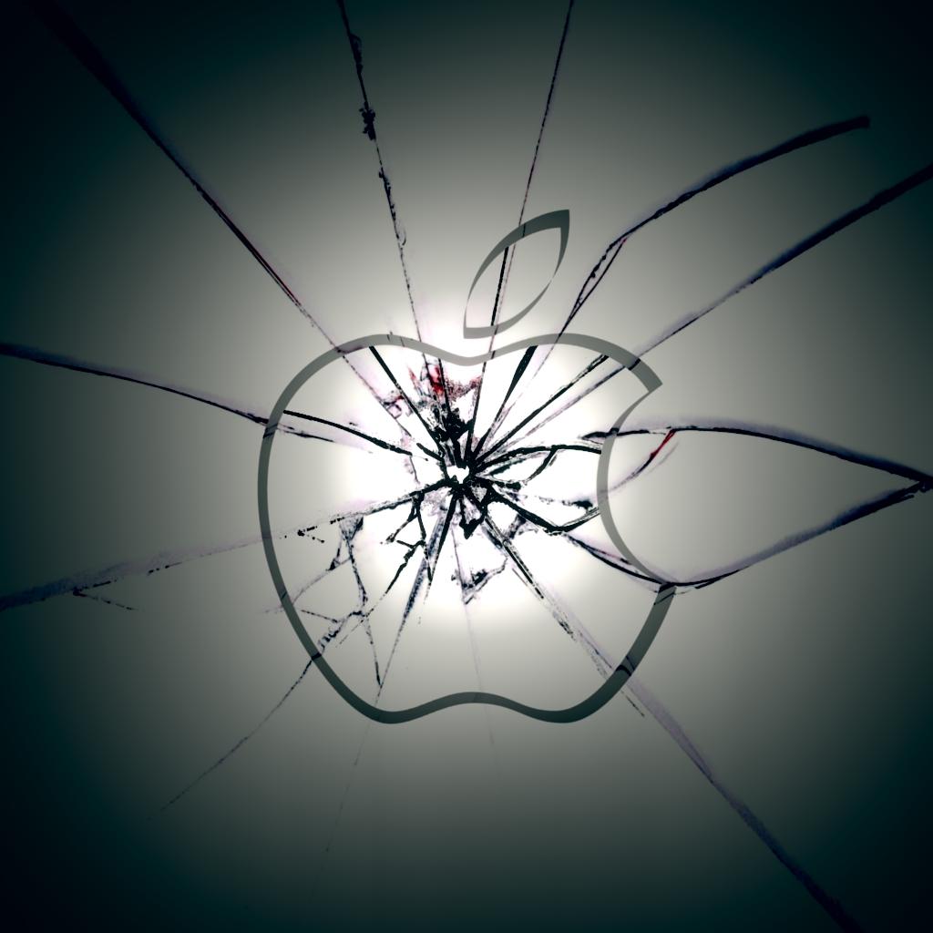 broken apple wallpaper - photo #21
