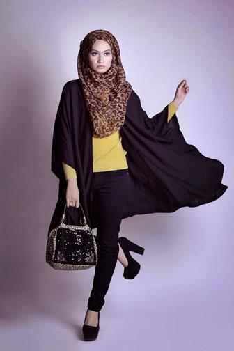 Style Cardigan Hijab Untuk Muslimah Modis