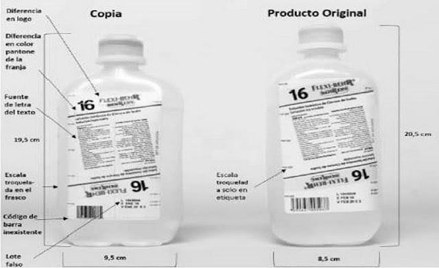 Laboratorio Behrens alerta sobre falsificación de uno de sus medicamentos