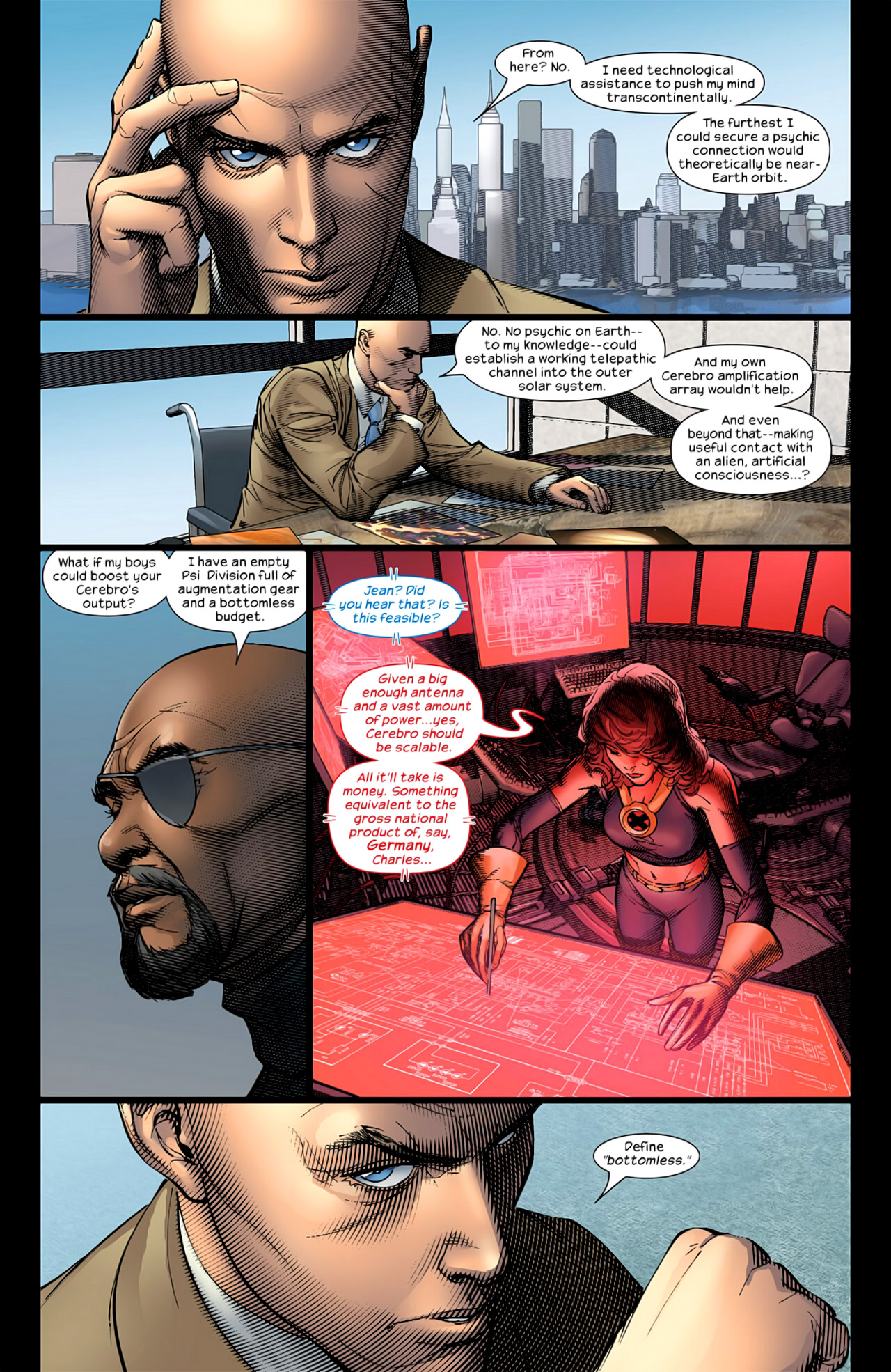 Read online Ultimate Extinction comic -  Issue #2 - 13